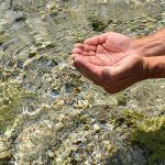 Amostragem de água subterrânea para cetesb